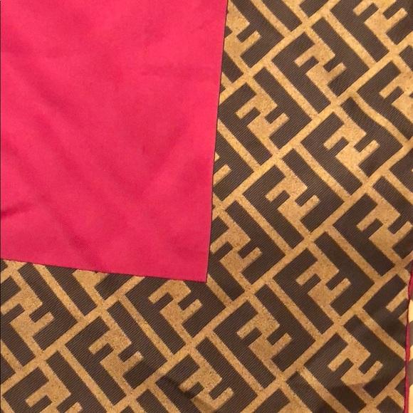 117355c519f9 Fendi Accessories - Fendi Silk Scarf